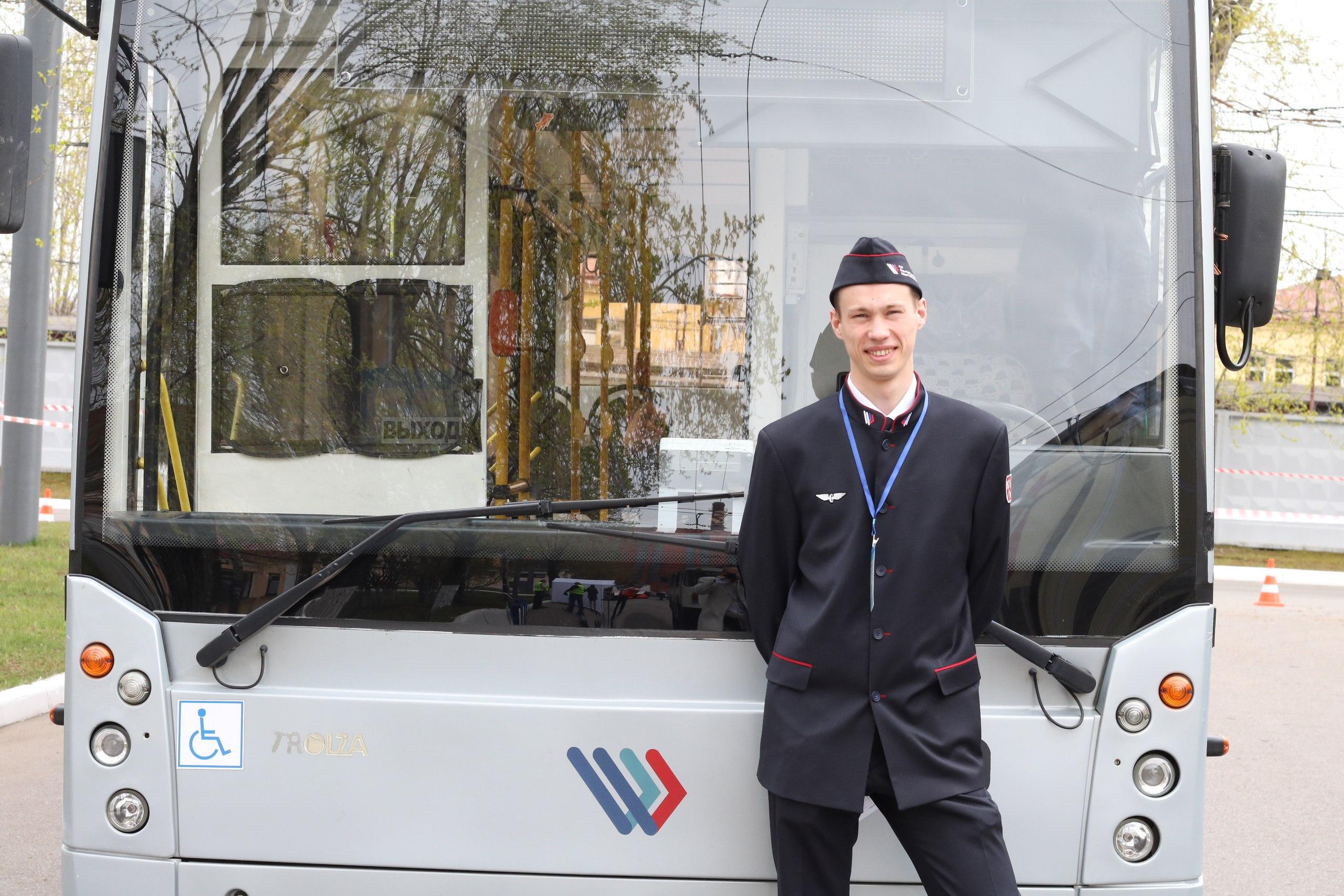 Лучшим водителем троллейбуса-2017 стал 24-летний Василий Трофимов